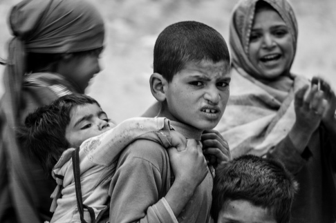 Sonewal children in Gilgit-Baltistan