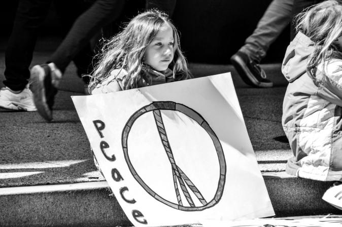 Hope for peace, Washington D.C.