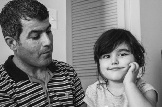 Balar, age 4, from the Kurdistan Region of Iraq and Hyattsville, MD: 'When I grow up, I want to be a Cheetah.'
