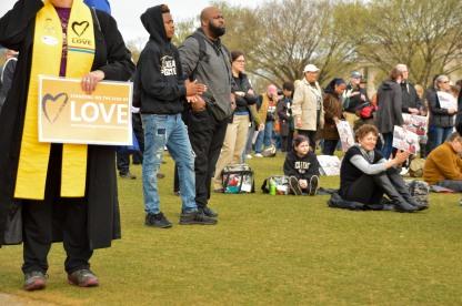 ACT To End Racism Rally, April 2018