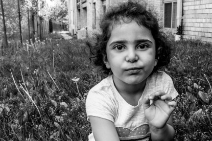 Lara, age 4, from Syria and Hyattsville, MD: 'When I grow up, I want to be Elsa from Frozen.'