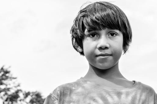 Arcangel Elias, age 8, future pediatrician, from El Salvador and Riverdale, MD.