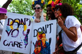 The Omi Collective at the Families belong together March, June 2018