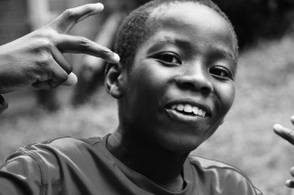 Judicael, age 10, future soccer star, from the Central African Republic and Riverdale, MD.