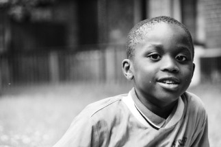 Delphin, age 6, future batman, from the Central African Republic and Riverdale, MD: 'I want to save the world and help people.'