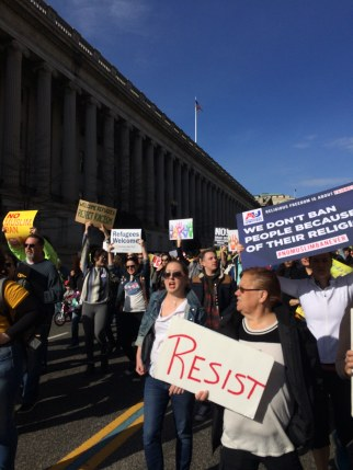 Refugees Are Welcome Rally, March 2018